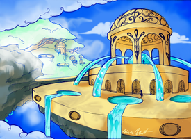 Colored old BG assignment by kittykeoko