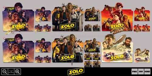 Solo A Star Wars Story (2018) Folder Icon Pack 2 by Bl4CKSL4YER