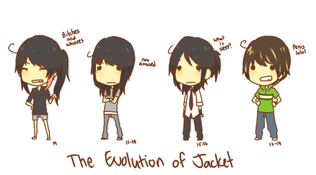 misc: the evolution of me by jackettt