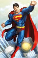 Superman by Dan-the-artguy