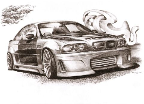BMW M3 CLS - Unstoppable by Medvezh