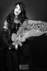 Death of the Endless cosplay - Dried flowers by Cospoison
