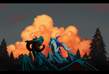 Summer Nights by aacrell