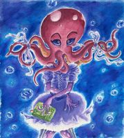 Octopus Girl by Tabascofanatikerin