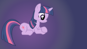 Twilight Sparkle Wallpaper by Shelmo69