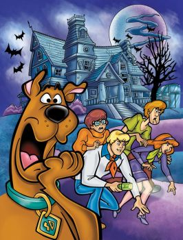 Scooby Doo cover Coloring by TamvakisPhoto