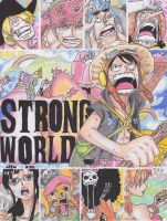 One Piece Strong World by ajscorching