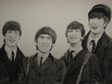 Beatlemania Begins! by TheNymphInYellow