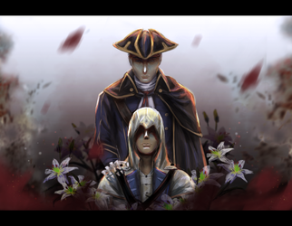 ACIII: White lily for the dead by Nonomy314