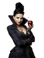 PNG: Evil Queen - Once upon a Time by LuanaF