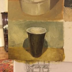oil study - cup 2 by lemon5ky