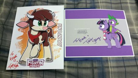 Signed by Tara Strong by Fuzon-S