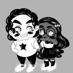 Steven and Connie -Steven Universe Ink by TheTigerMaster