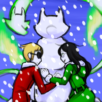 play in the snow this instant by Koshou