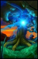 The Spirit Tree Poster by Keisharall