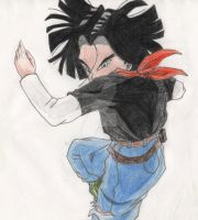 Dragonball Z   Android 17 by Kajhin