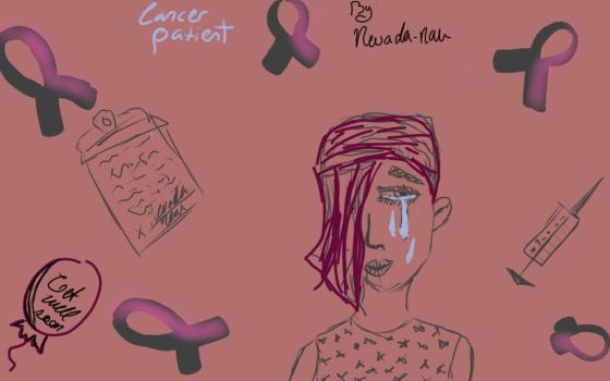 Cancer Patient by nevada-nau