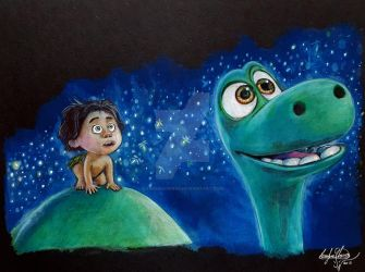 The Good Dinosaur by OMKDrawings
