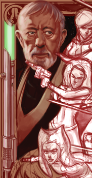 Star Wars painting UPDATE by RyanJampole