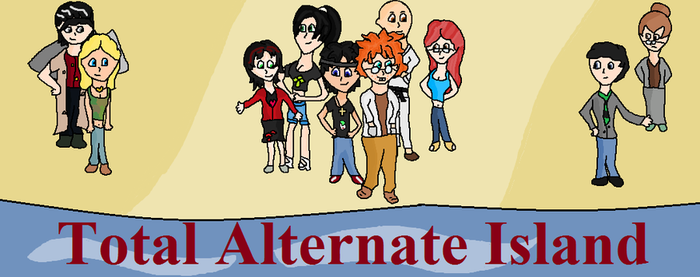 Total Alternate Island: New Characters by agreenparrot