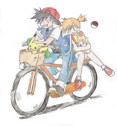 Bicycle built four two by TheEndxTypeANIME