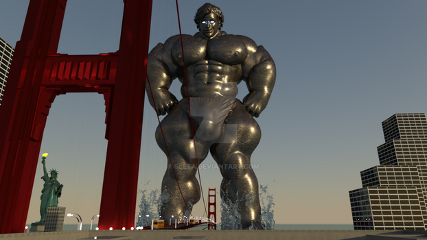 Giant of the bridge by sleta