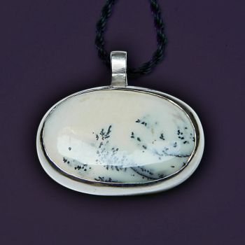 Chinese Dreams awesome handmade silver pendant by YANKA-arts-n-crafts