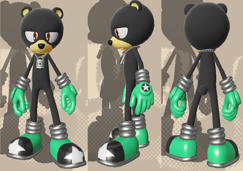 Sonic Forces Avatar - Biff McGrizzly by Ver2k0