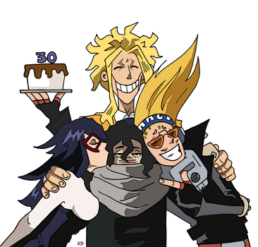 Happy Birthday Aizawa by BlitheFool