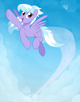Cloudchaser (Patreon Reward - August 2017) by AniRichie-Art
