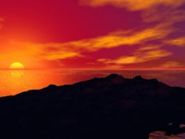.:My sunset pt one:. by Erriewon