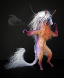 Unicorn of the Sunset Room Guardian by AnyaBoz