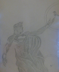Superman God by CAZTZ