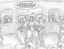 Amazon Wrestling League C5 p12 by AkuOreo