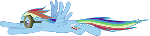 Rainbow Dash :: Into the Tornado by CobaltWinterborn