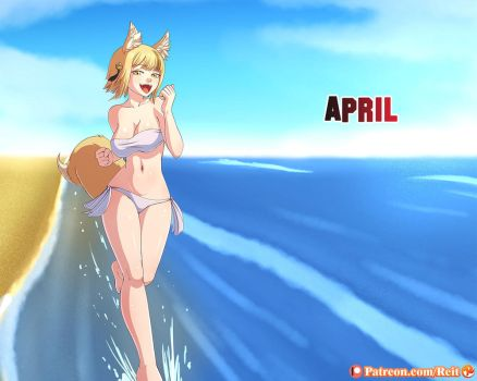 Commission: April Birthright: Selkie by Reit-9