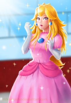 Princess Peach Toadstool by TonsterMonster