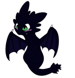 toothless by P0CKYY