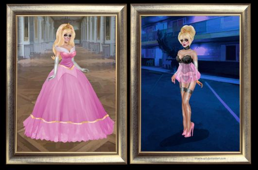 Chloe the Princess - Before and After by Miss--Chloe
