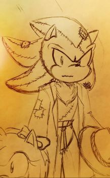 Shadow the Scarecrow_Doodle by Ila-Mae