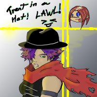 Trent in a Hat, LAWL by Qyzex