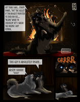 Fireside Night with a Bit of Crazy by IronclawsAndPaws