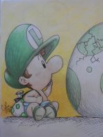 baby and egg by music-missy