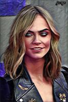 Eyes Of Power - Cara Delevingne by BlackIndian36