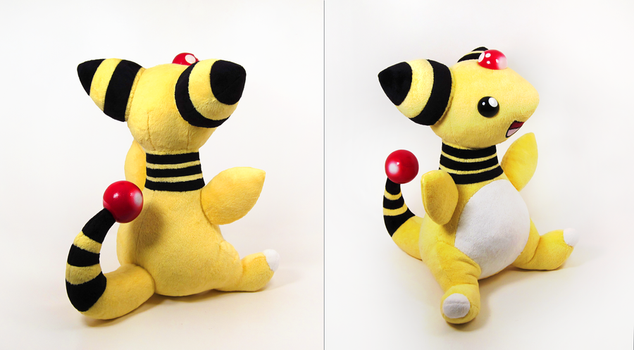 Ampharos (more views) by caffwin