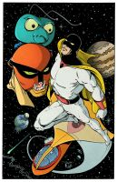 Space Ghost colors low res by BDixonarts