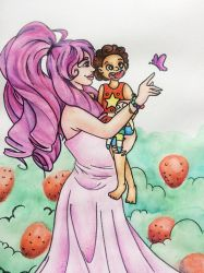 Rose and Steven by BatWitch