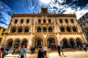 Rossio by Ullises