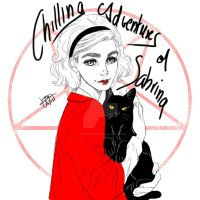 Chilling Adventures of Sabrina - Fan Art by VeCapArtist