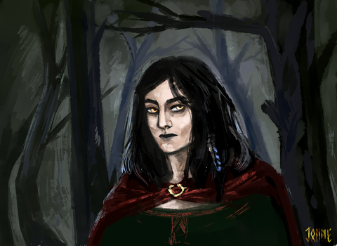 the witch by Jadwiga99